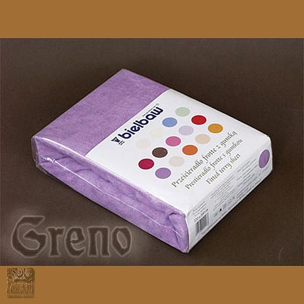 Prześcieradło 180/200 frotte zg 28 j fiolet GRENO
