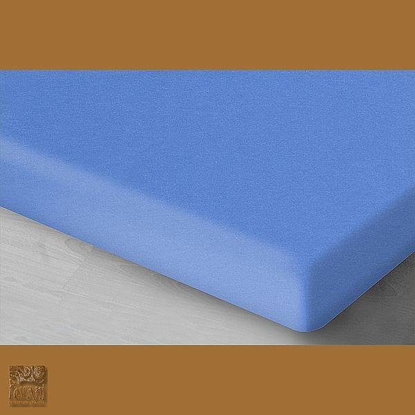 Prześcieradło 180 x 200 cm jersey błękitny 40 Oritex