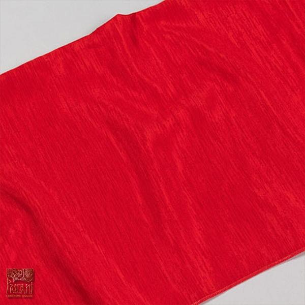 Shantung 21 czerwony