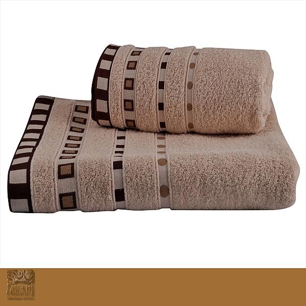 Ręcznik Michael 50 x 90 cm krem Florentyna