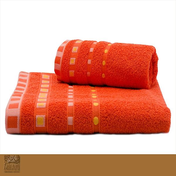 Ręcznik Michael 70 x 140 cm pomarańcz Florentyna