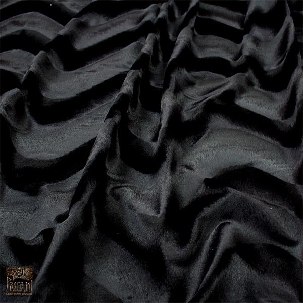 Dzianina zwierzaki 7 gładki czarny