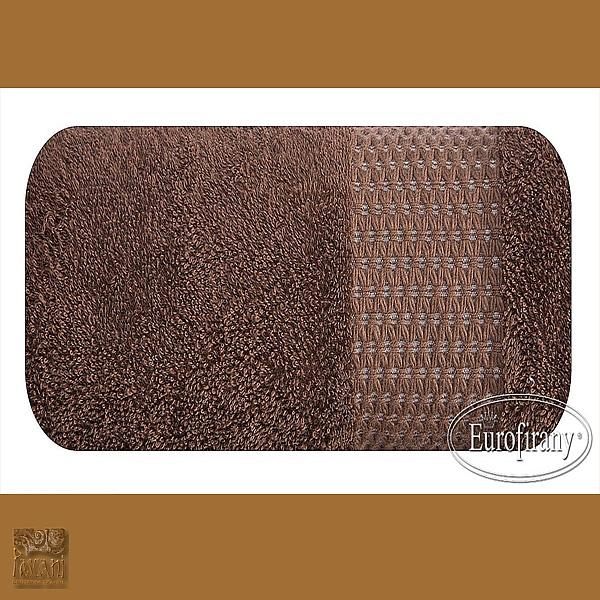 Ręcznik CLARA 70 x 140 cm brąz