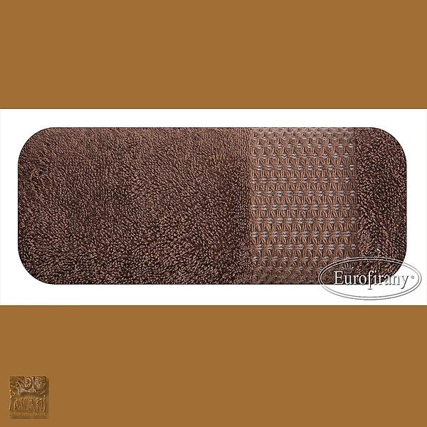 Ręcznik CLARA 50 x 90 cm brąz