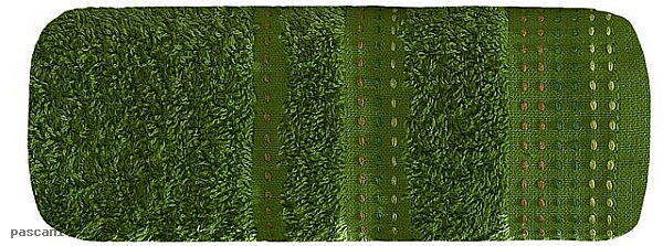 Ręcznik POLA 30 x 50 cm zielony