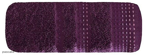 Ręcznik POLA 50 x 90 cm śliwka