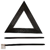 Upinacz trójkąt drew. wenge D.6