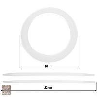 Upinacz koło plastik mleczne,złote, srebne  D.PLASTIC/B/ ZŁOT/SREB