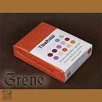 Prześcieradło 100/200 frotte zg 36 cegła GRENO