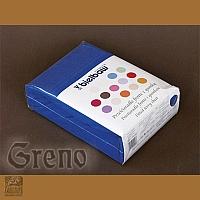 Prześcieradło 180/200 frotte zg 25 c niebieskie GRENO