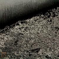 Tkanina plusz astrachan czarny 6731WW
