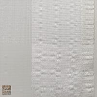 Firana szer 190-145 cm/wys 154 cm woal ecru na przelotkach z listwą z tafty ecru