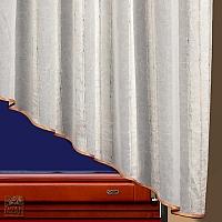 Firana szer 480-240 cm/wys 150 cm woal kresz, dwa duże trójkąty nakładane na siebie, obszyte lamówką