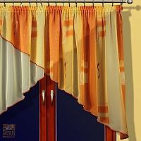 Dekoracja okna woal druk 120/280 Xara