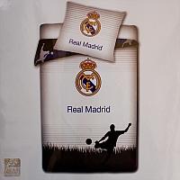 Posciel 160/200 Real Madryt szary piłkarz 2010