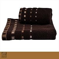 Ręcznik Michael 70 x 140 cm brąz Florentyna