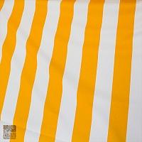 Markizówka pasy biało-żółte szer 160 cm