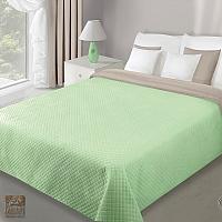Narzuta 220 x 240 cm jasny zielony + beż CHON/FILIP/07