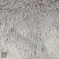 Poszewka 40 x 40 cm futrzak szary