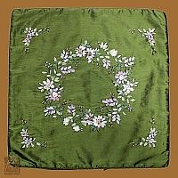 Poszewka 45/45 Elegant zieleń stroik