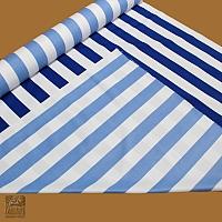 Markizówka biało - niebieskie pasy szer 155 - 205019/drf/wo/wd